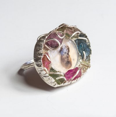 Silver Baby Lullaby Ring
