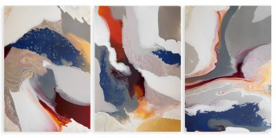 West Wind Current.(triptych)